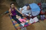 Nosso acampamento no setor Coliseu, Serra do Cipó. Foto: arquivo pessoal.